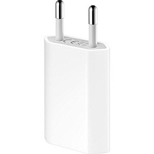 Apple MB707ZM A1300 Original Netzteil (5 Watt, USB) für iPhone/iPod mit USB-Stromadapter weiß