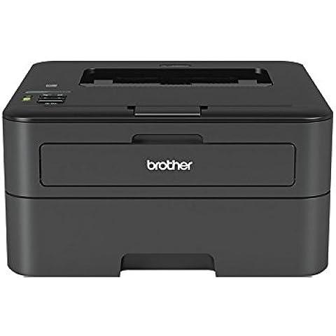 Brother HL-L2365DW - Impresora láser monocromo (con red cableada, WiFi e impresión automática a doble