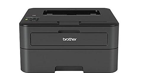 Brother HL-L2365DW Monochrome Laserdrucker (2400 x 600 dpi, Duplex,USB 2.0, WLAN) schwarz