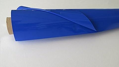 LACKFOLIE 130cm / 30mtr königsblau (Königsblau Tischdecke)