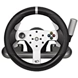 Mad Catz Gaming Steering Wheel. X360 WLESS FFB RACING WHEEL G-ACCS. Wireless - Xbox 360, PC by Mad Catz