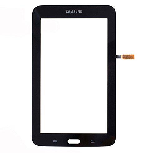 Samsung Galaxy Tab 3 LITE 7.0 SM T110 Touchscreen Touch Screen Digitizer Glas + Klebestreifen Schwarz