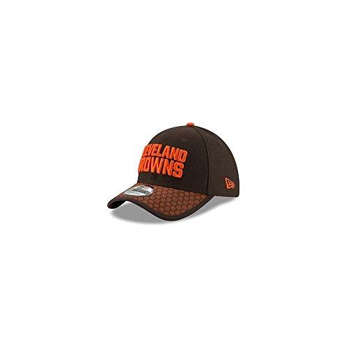 New Era 39Thirty Cap - NFL 2017 SIDELINE Cleveland Browns, Gr. M/L (Bekleidung Browns Herren Cleveland)