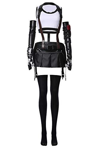 Tollstore Final Fantasy VII FF7 Tifa Lockhart Remake Cosplay Kostüm (Remake Kostüm)