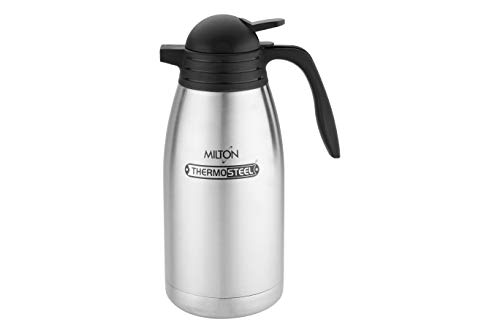 Milton Thermosteel Carafe Flask, 2 Litres, Silver