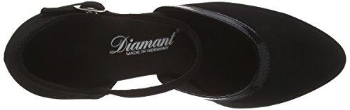 Diamant Diamant 049-106-106 Damen Tanzschuhe - Standard & Latein, Chaussures de Danse de salon femme Noir - Noir