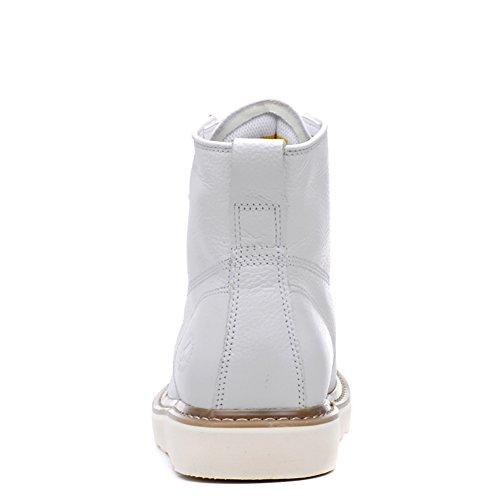 Insun Herren Stiefel Winter Boots Winterstiefel Schuhe Weiß