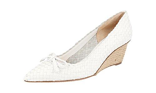 Prada 3IZ062 E3S F0009, Herren Sneaker, Weiß - Weiß - Größe: 40 - Männer Prada Schuhe Kleid