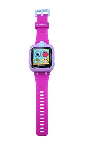 LINSAY NEW S-5WCLPINK Smart Watch Kids with 90 Degree Selfie Camera Pink