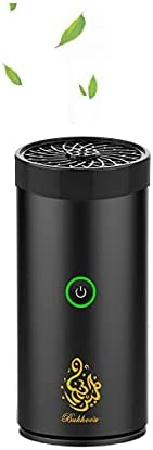 Electric Bakhoor Ramadan Arabic Aroma Diffuser for Home Office Car Rechargeable Portable Mini USB Power Incens