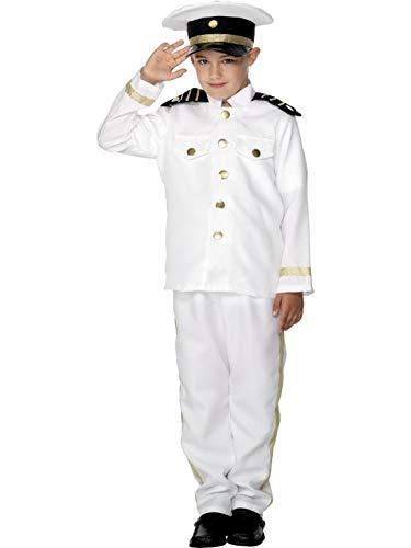 Schiff Kapitän Kostüm Junge - Luxuspiraten - Jungen Kinder Schiffs Kapitän