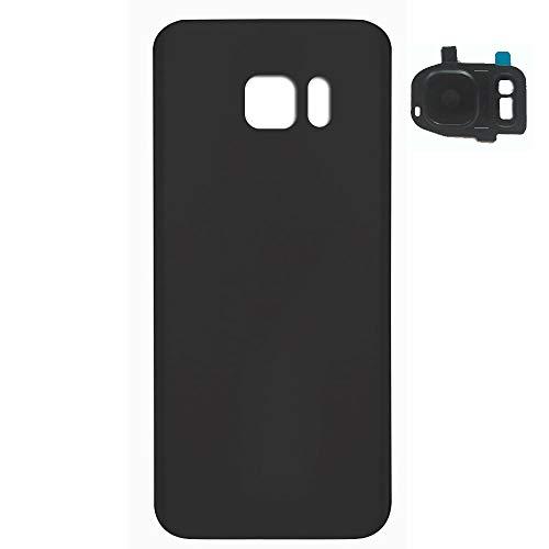 UU FIX Akkudeckel Ersatz Hoch Geeignet für Original Samsung Galaxy S7(Schwarz) Rückseite Battery Cover Ersatz Reparaturteil Mit. -
