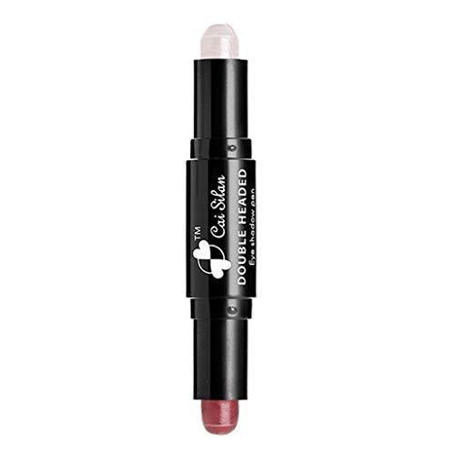 Luckhome  Lidschatten-Stift Master Smoky Smoky/Eyeshadow Pencil für Smokey Eyes, mit integriertem Smudger Frauen-Lidschatten-Highlight-Kontur-Stick-Schönheits-Makeup-Gesichtspuder-Creme(E) - Smoky Eye Pinsel