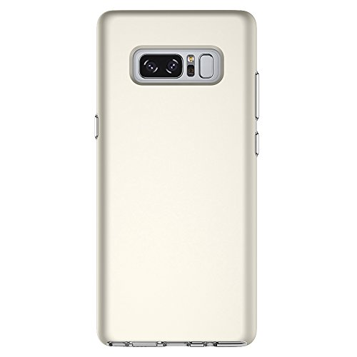 EKINHUI Case Cover Ultra Thin Lightweight Dual Layer 2 in 1 PC und TPU Schutzhülle für Samsung Galaxy Note 8 ( Color : Rosegold ) Gold