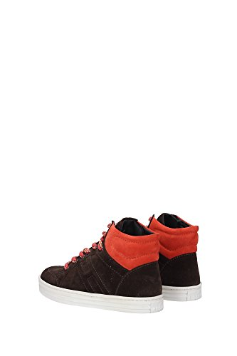 HXC14107282MU00AZL Hogan Sneakers Kind Wildleder Braun Braun