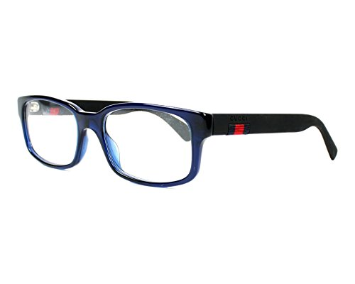 Gucci Frame - BLUE-BLACK-TRANSPARENT