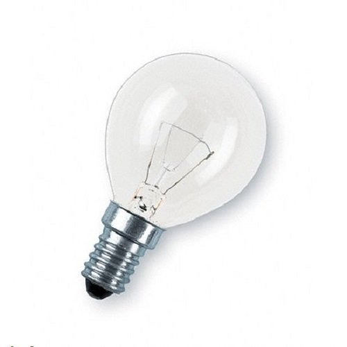 Glühbirne, E14, 25 Watt, Tropfen, klar, 10er-Set (Voll-spektrum-lampen-set)