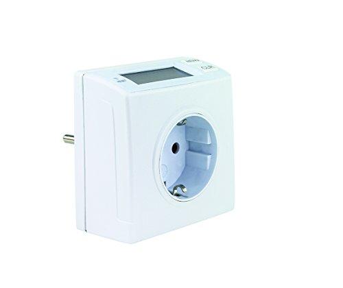 REV Ritter 0025810112 Energiemessgerät kompakt, ws, weiß