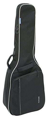 Gewa 212100 Economy 4/4 Gig Bag für Klassikgitarre, schwarz - E-gitarre Les Paul