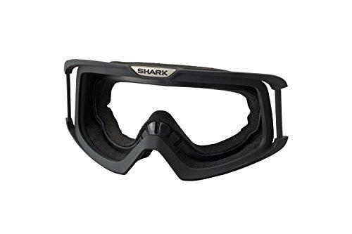 Shark Raw/Dark/Vancore Motorrad Helm Rahmen Brille schwarz
