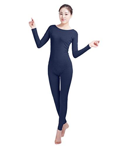 NiSeng Erwachsener und Kind Zentai Ganzkörperanzug Kostüm Ganzkörperanzug Fasching Bodysuit Kostüm Marine XL - Kinder-haut-anzug-kostüm -
