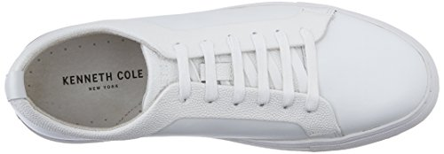 Kenneth Cole NY Double Knot Hommes Cuir Baskets white