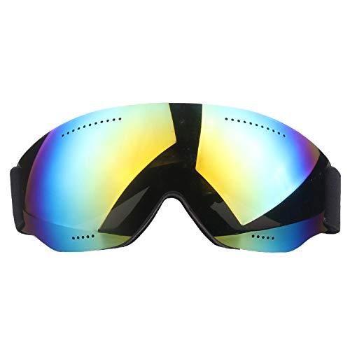 ZYSMC Gafas De Esquí De Una Sola Capa, Grandes Y Esféricas Cola Miopía Nieve Espejo Gafas Parabrisas Adulto Gafas De Esquí,2