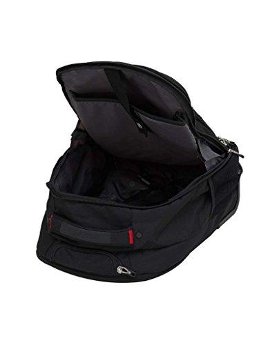 "Swiss Gear 18.5"" Rolling Computer Backpack 38 L Trolley Laptop Backpack (Black) Image 8"