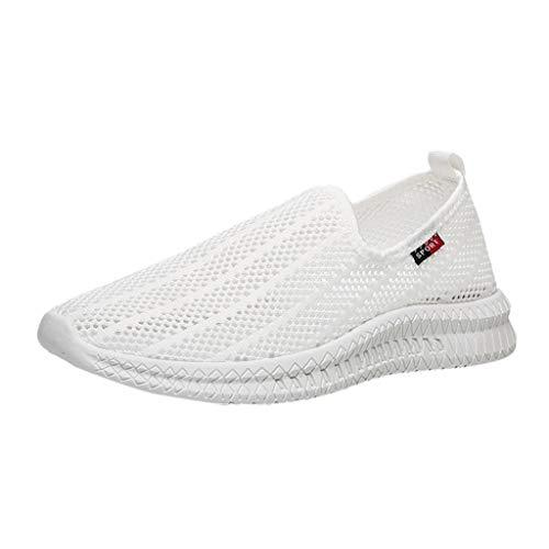 REALIKE Herren Socken Schuhe Laufschuhe Hohl Mesh Atmungsaktiv Rutschfeste Sneaker Sportschuhe Turnschuhe für Männer Farben 39-44 EU Running Schuhe Gym Outdoor Fitness -