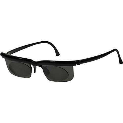 Adlens SunDialsPlus Sonnenbrille mit Sehstärke für Nah und Mittelsichtbereich Lesebrille / schwarz / +2.75 Dioptrien