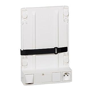 Legrand LEG413149 Support box opérateur ADSL, Blanc