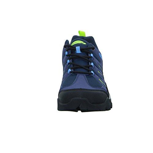 Sneakers SS17001 Herren Leichtwanderhalbschuh Blau (Blau)