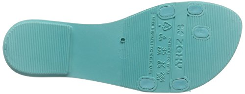 Zaxy - Glissade De Vie, Lanières De Femme Turquoise (turquoise)