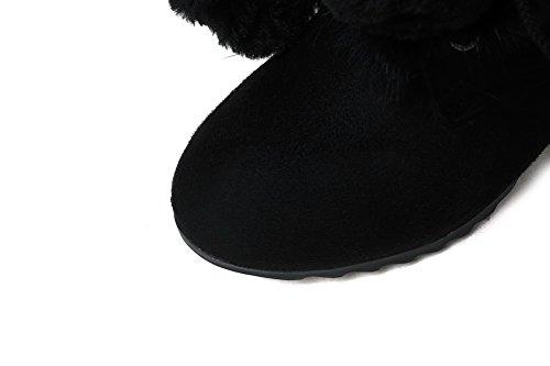 Sconosciuto 1TO9Mns02488 - Stivali da Neve Donna Black