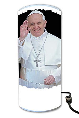 Zylinder Lampe Papst Franziskus