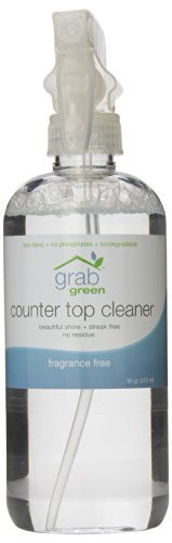 Grab Green Counter Top Cleaner, Frangrance Free, 16 Ounce