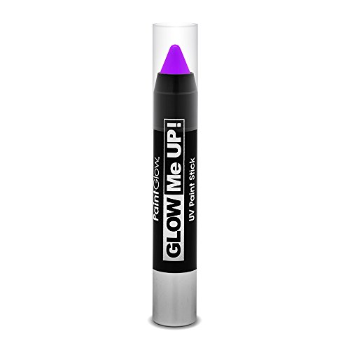 Smiffys - SM46139 - Crayon Maquillage UV 3 g Violet - Taille Unique