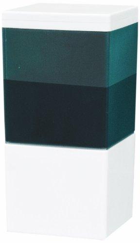 InnoEssentials Infrarot-Seifenspender Wandmontage weiß mit schwarzem Sichtfenster