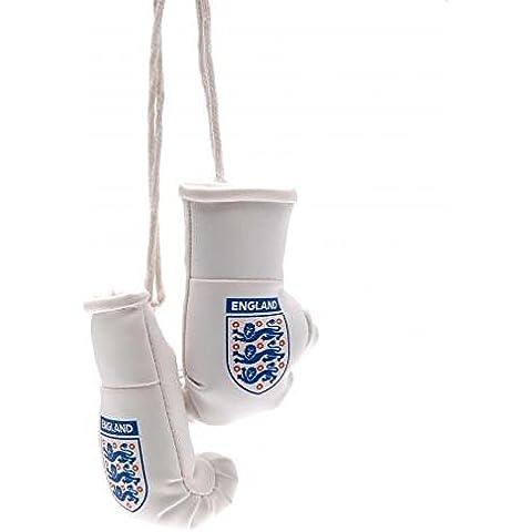 lnglaterra FA Mini guantes de boxeo, oficial, accesorio para coche