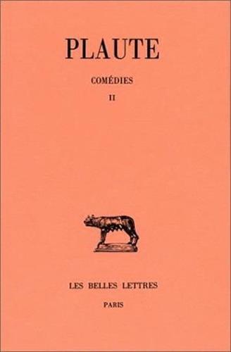Comédies, tome 2 : Bacchides - Captivi - Casina