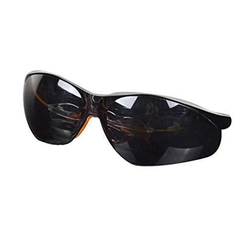 Vikenner Sonnenbrille Polarisierte Dekorative brille ohne sehstärke Brille Lichtschutzbrille Arbeitsplatzbrille blaulichtfilter Brille Schwarz 138mm