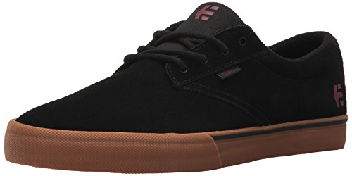 Etnies Jameson Vulc, Herren Skateboardschuhe Black/Tan/Red