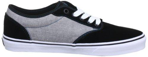 Vans W Atwood, Baskets mode homme Noir (Black/Moroccan Blue)
