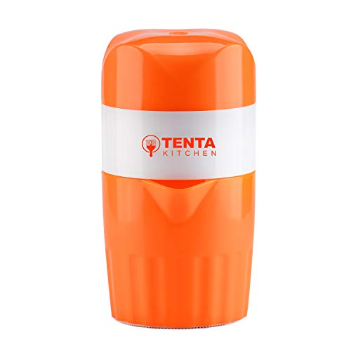 Trenta Küche Manuelle Saftpresse Fruit Lemon Lime Orange Squeezer - 16,9 oz/500 ml Behälter - POUR Auslauf - Perfect Entsafter Tasse für Kinder