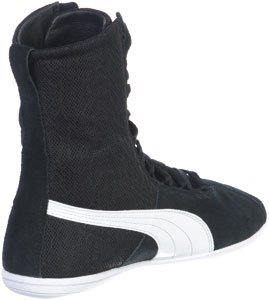 Puma Eskiva Hi Textured Damen Sneaker Schwarz