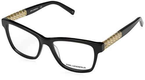 Karl Lagerfeld Damen Kl9200015216135 Brillengestelle, Schwarz, 52