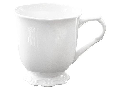 Chic Antique | Edle Tasse Kaffeetasse Teetasse Becher Kaffeebecher mit Henkel | Perfekt für...
