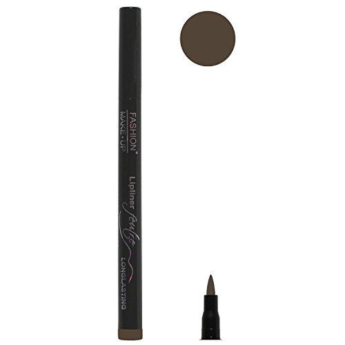 Feutre Semi Permanent Lip Liner - Couleur Chocolat - Effet Tatouage Contour des Levres Maquillage