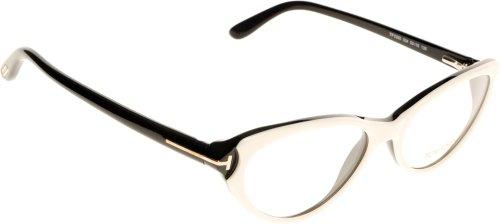 Tom Ford Für Frau Ft5285 White / Black Kunststoffgestell Brillen, 53mm