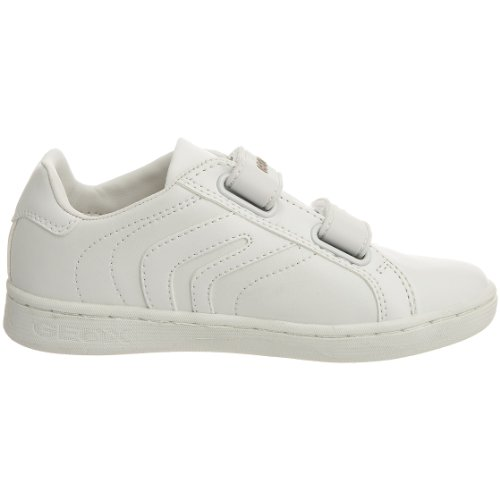 Geox - J Mania Boy P, Sneaker Bambino Bianco